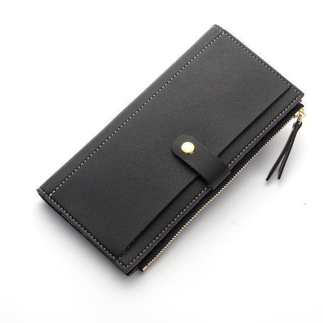 bags Black Real Simple Wallet long clutch purse