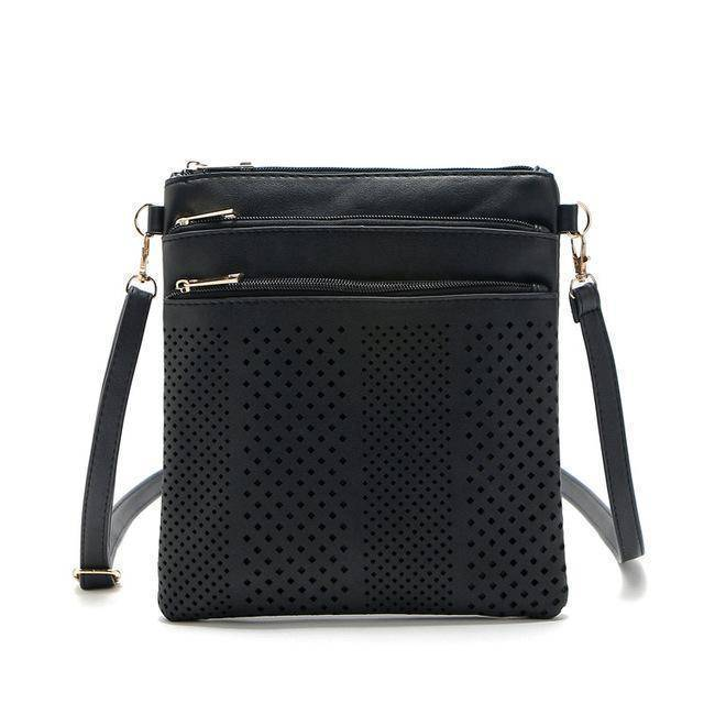 bags Black Two Hollow out shoulder, cross body bag