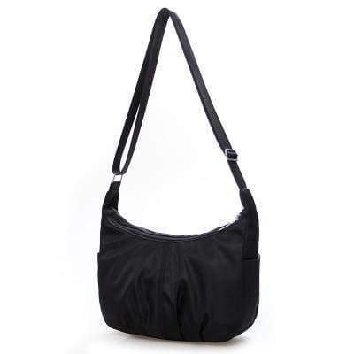 bags Black Ultra light Strong Nylon Shoulder Hobo Bag