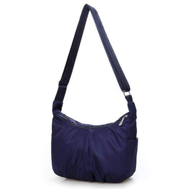 bags Blue Ultra light Strong Nylon Shoulder Hobo Bag