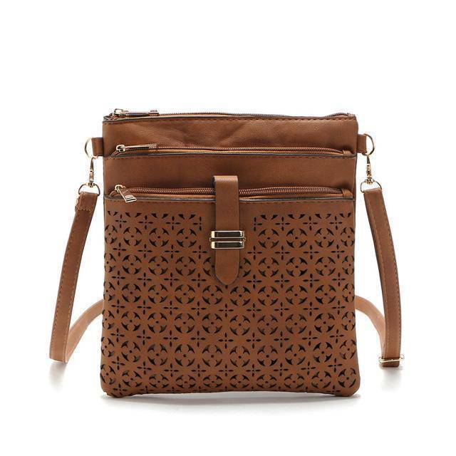 bags Brown One Hollow out shoulder, cross body bag