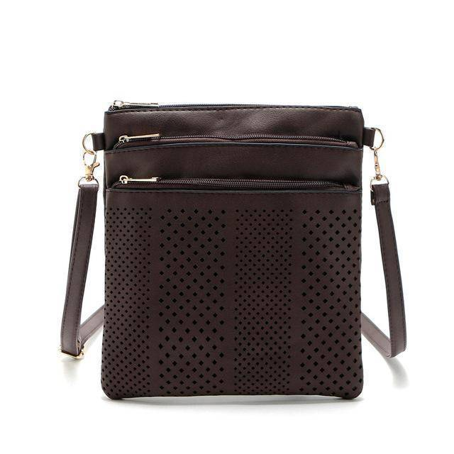bags Coffee Two Hollow out shoulder, cross body bag
