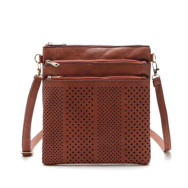 bags Dark Brown Two Hollow out shoulder, cross body bag