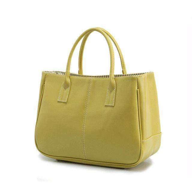 Bags green 14 Colors Solid Tote