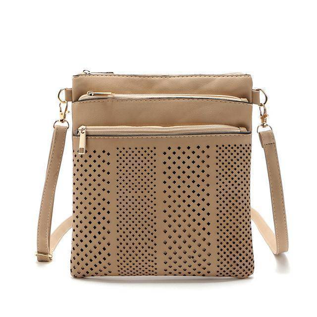 bags Khaki Two Hollow out shoulder, cross body bag