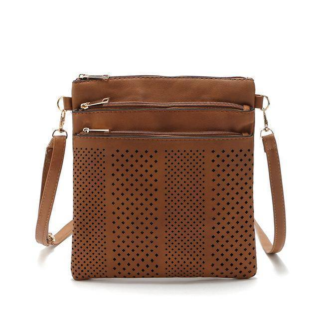 bags Light Brown Two Hollow out shoulder, cross body bag