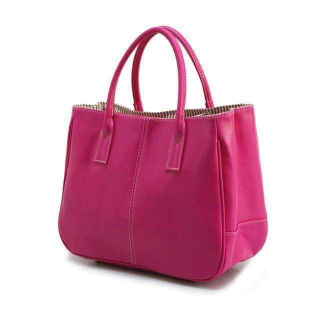Bags Magenta 14 Colors Solid Tote