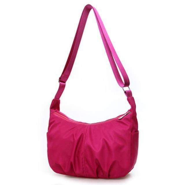 bags Magenta Ultra light Strong Nylon Shoulder Hobo Bag