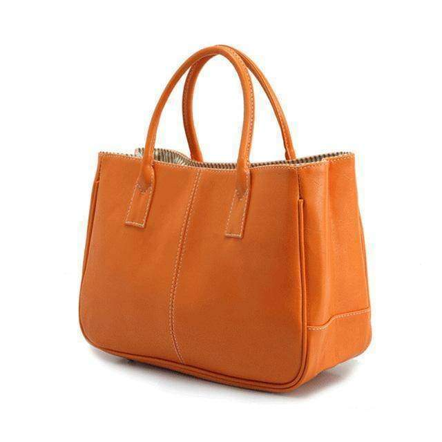 Bags orange 14 Colors Solid Tote