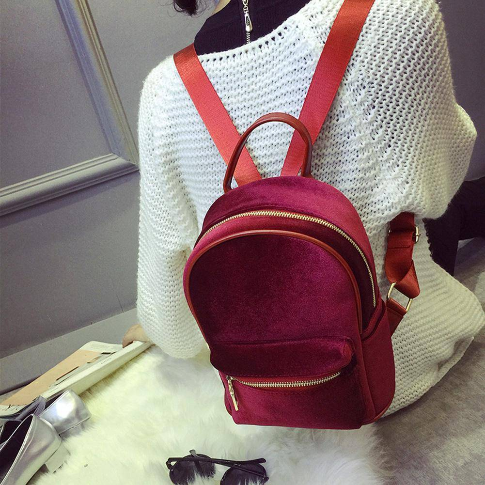 bags Petite Velvet Designer Backpack Soft Backpack