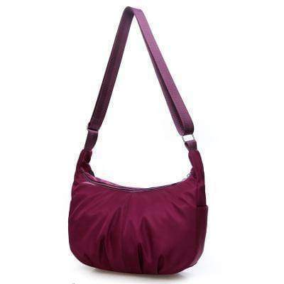 bags Purple Ultra light Strong Nylon Shoulder Hobo Bag