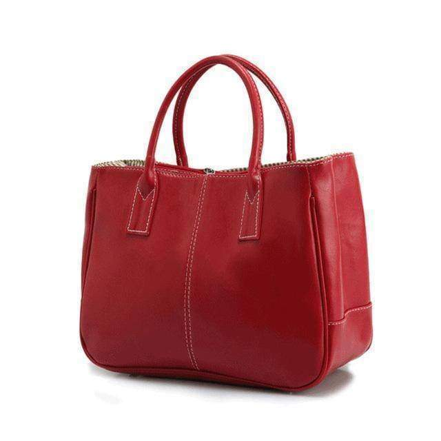 Bags red 14 Colors Solid Tote