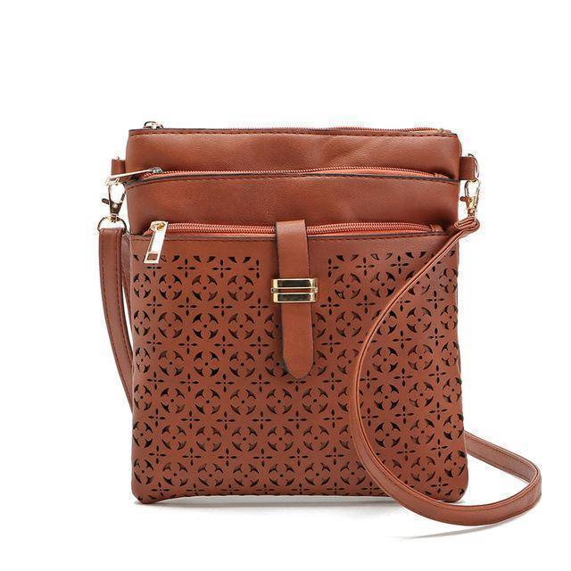 bags Red Brown One Hollow out shoulder, cross body bag