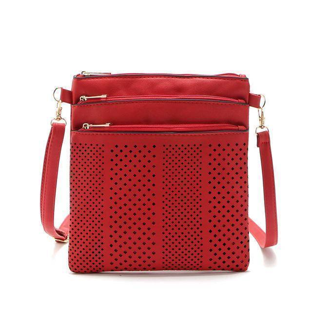 bags Red Two Hollow out shoulder, cross body bag