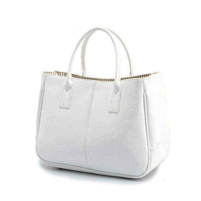 Bags white 14 Colors Solid Tote