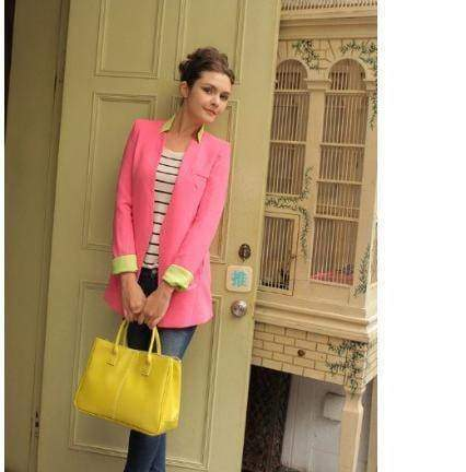 Bags Yellow 14 Colors Solid Tote