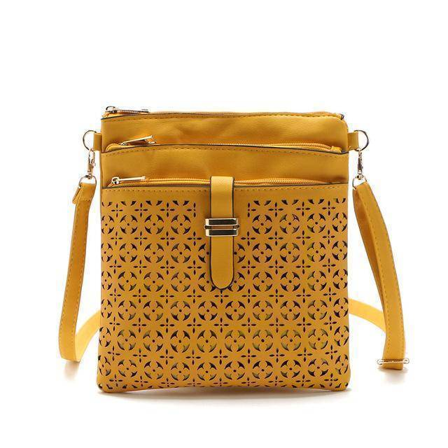 bags Yellow One Hollow out shoulder, cross body bag