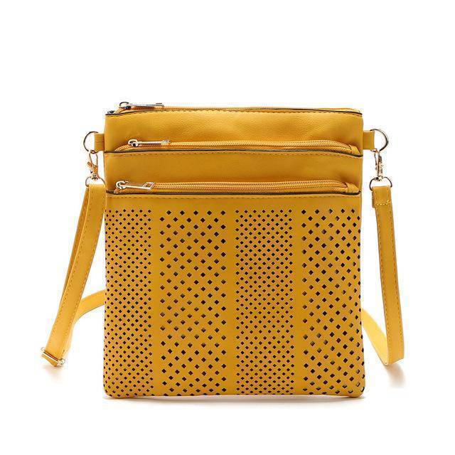 bags Yellow Two Hollow out shoulder, cross body bag