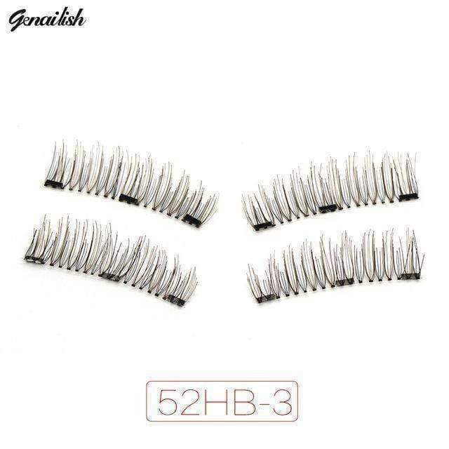 beauty 52HB-3 3x fuller Magnetic eyelashes with 3 magnets
