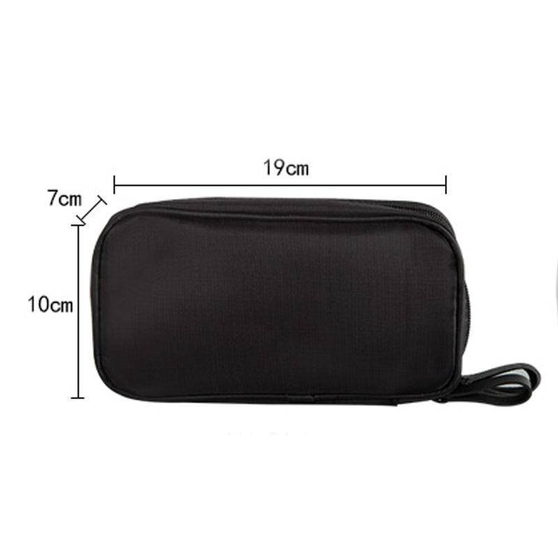 beauty Double Layer Portable travel cosmetic beauty Bag