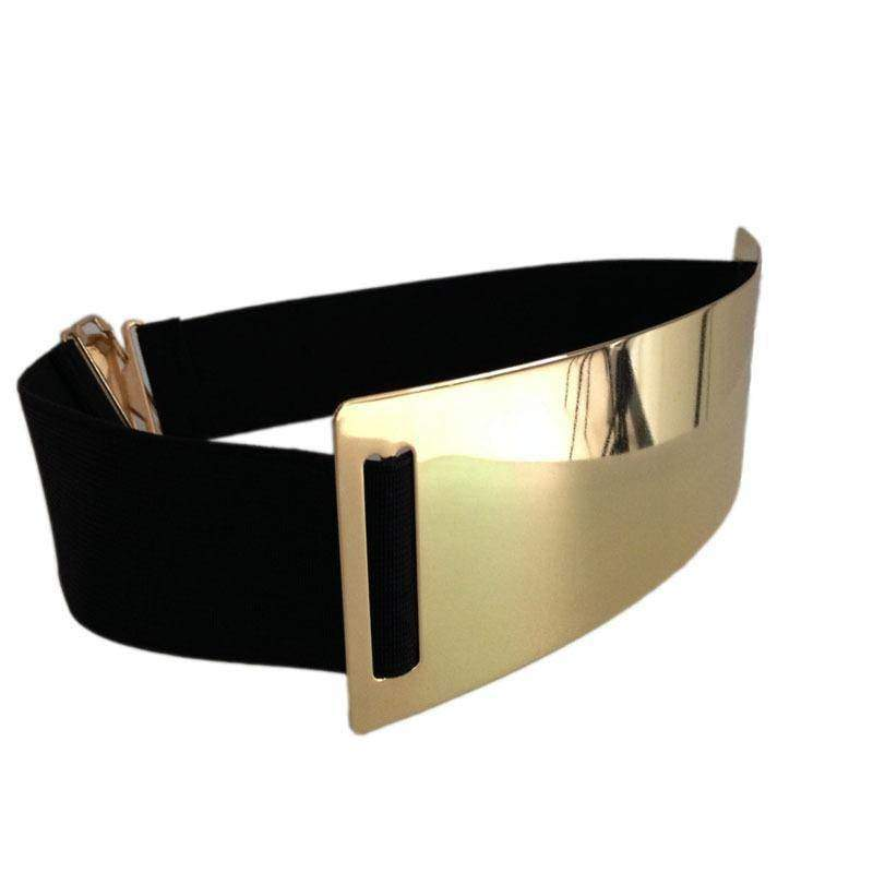 Belts Hot Designer Belts for Woman Gold Silver Brand Belt Classy Elastic ceinture femme 5 color belt ladies Apparel Accessory