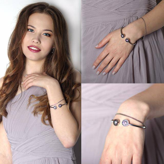 bracelet Roman numerals Cuff Stainless Steel Bracelets & Bangles