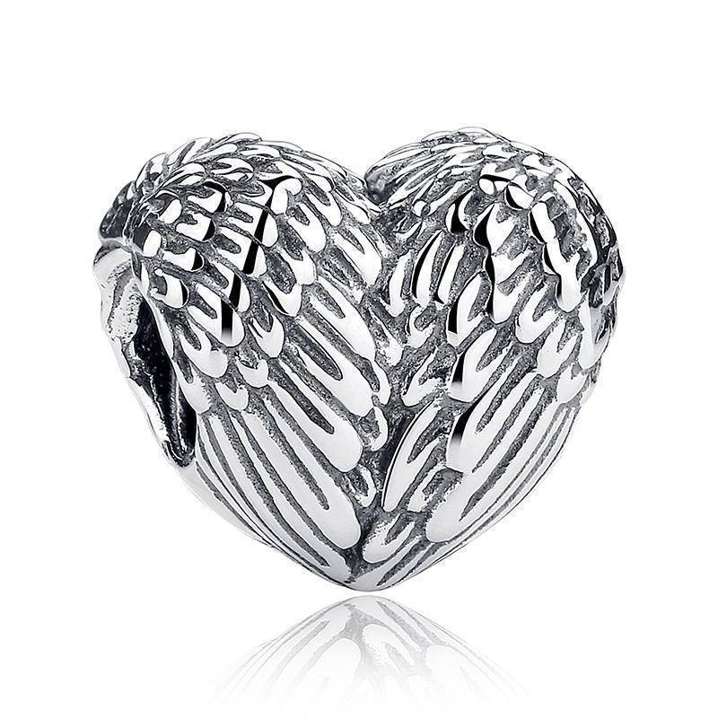 charms & beads 27 Styles of Hearts - 100% Authentic 925 Sterling Silver Charm Beads,  Fits Pan Charm Bracelets