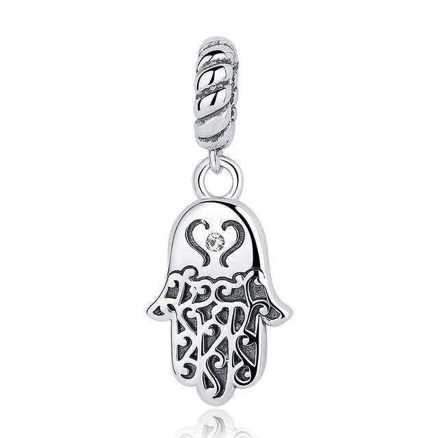 charms & beads CQC031 24 Designs, 925 Sterling Silver Pendant Charm Dangle Beads