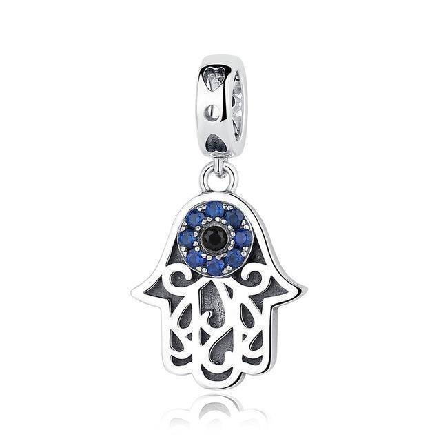 charms & beads CQC085 24 Designs, 925 Sterling Silver Pendant Charm Dangle Beads