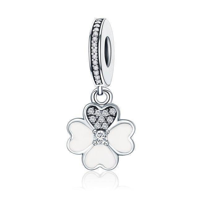 charms & beads GXC259 23 Styles, 925 Sterling Silver. Love Heart Charms