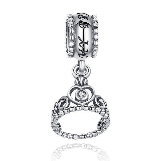 charms & beads XCHS014 24 Designs, 925 Sterling Silver Pendant Charm Dangle Beads