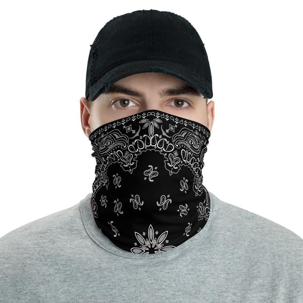 Classic Retro Bandana Design Neck Gaiter Face Mask