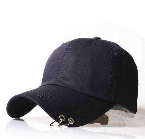 clothing 10 8 Styles, Unisex Embroidery Cap with Silver hoops