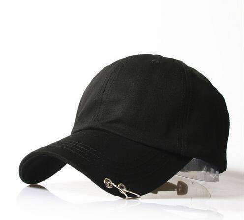 clothing 11 8 Styles, Unisex Embroidery Cap with Silver hoops