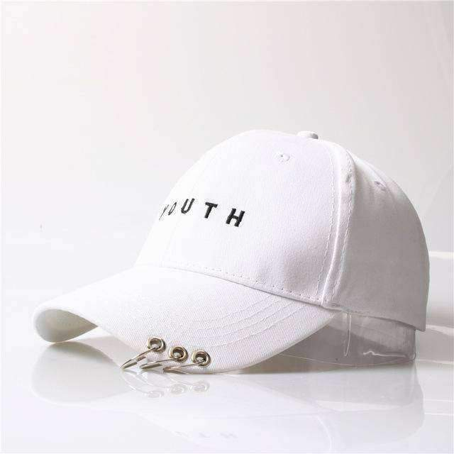 clothing 4 8 Styles, Unisex Embroidery Cap with Silver hoops