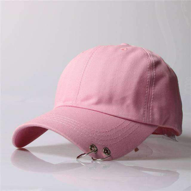 clothing 7 8 Styles, Unisex Embroidery Cap with Silver hoops