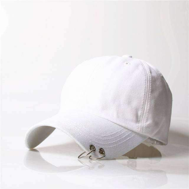 clothing 9 8 Styles, Unisex Embroidery Cap with Silver hoops