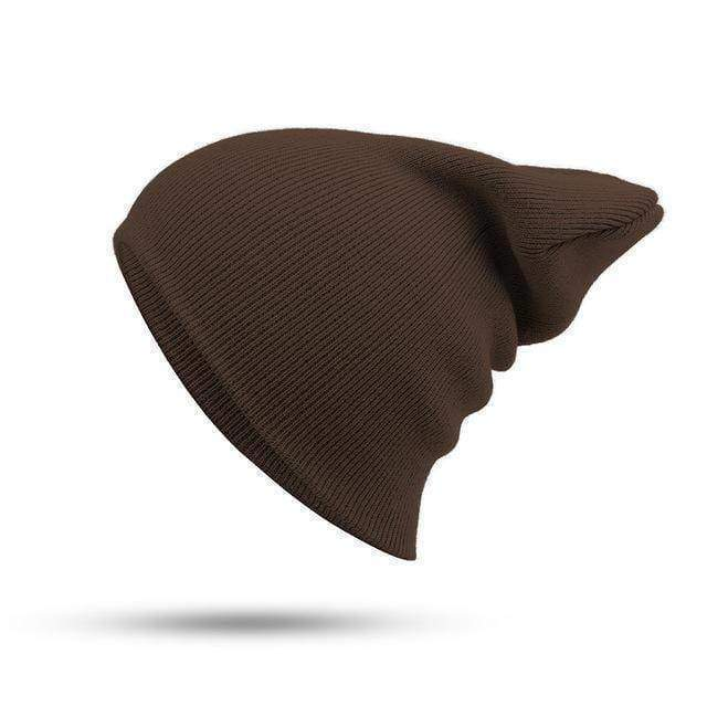 clothing Brown 19 Colors, HIP HOP Knitted Cap, Skullies and Beanies