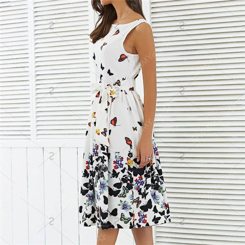 Clothing Butterfly Summer Dress (US 4-14)