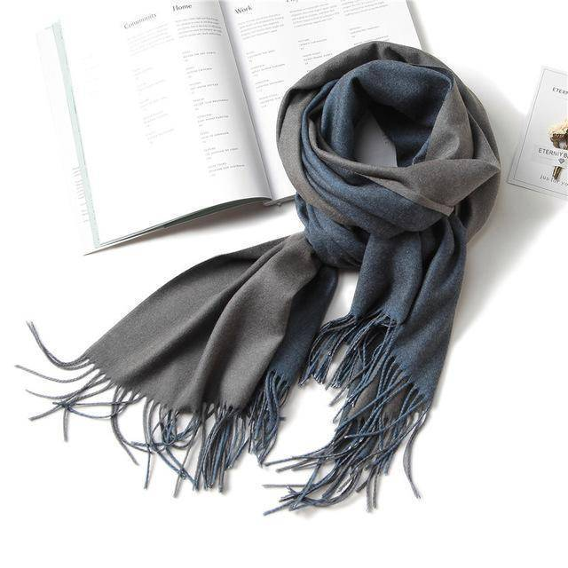 clothing c17 18 Colors, Double-side soft Cashmere scarves, shawls and wraps with Tassel