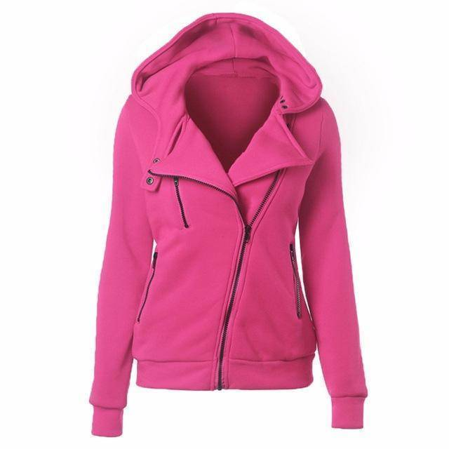 clothing Pink / S S-XXL 4 color motorcycle, hoodies sweatshirts zipper V Neck