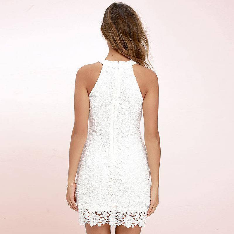 Clothing Vintage Sleeveless Hanging Women top / Mini Dress (US 4-14)