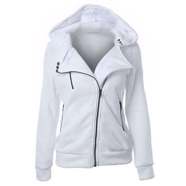 clothing White / S S-XXL 4 color motorcycle, hoodies sweatshirts zipper V Neck