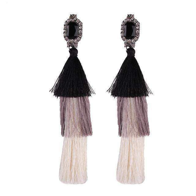 earrings 5 New Design Fashion Long Tassel Earrings Bohemian Wedding Jewelry Statement Hot Sale Dangle Drop Earring for Women
