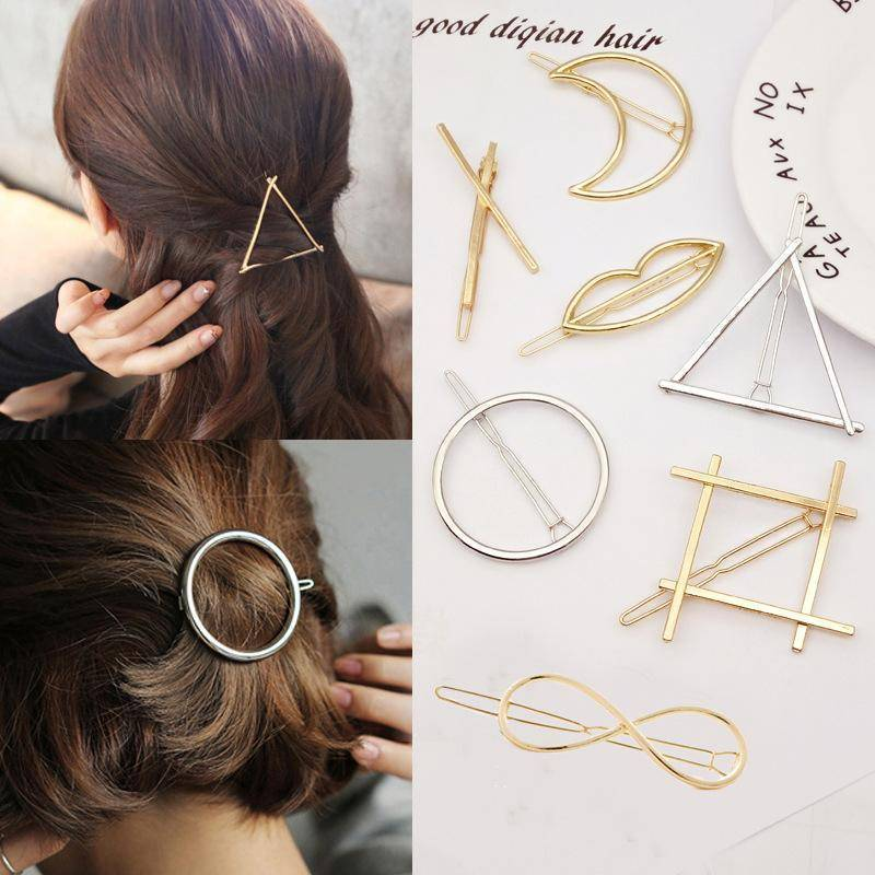 hair accessories 19 Styles, Minimalist Hair Pin, Hair Clip, Women Barrettes
