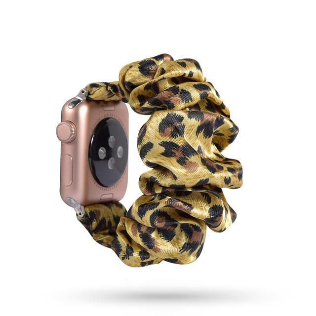 Home 72 / 42mm/44mm Apple Watch Band scrunchy, Stretch Scrunchie Elastic Watchband for 38mm/40mm 42mm/44mm iwatch Series 5 4 3