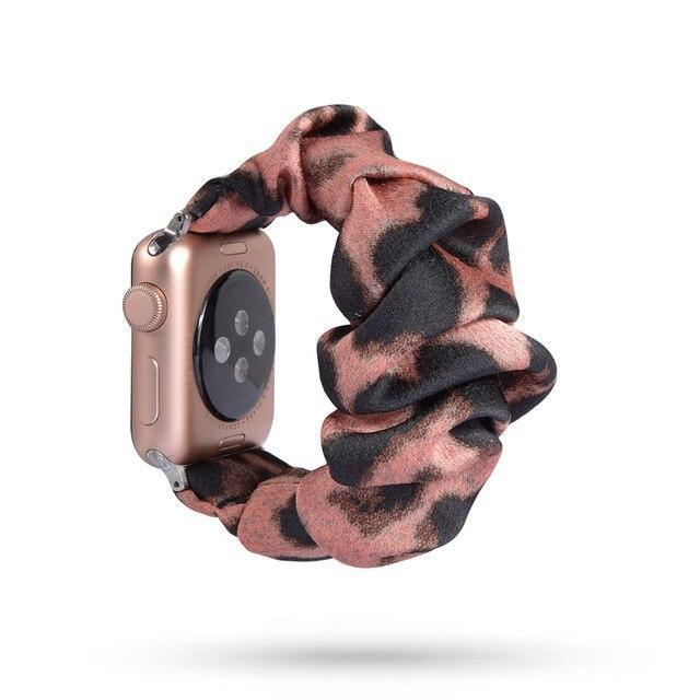 Home 73 / 42mm/44mm Apple Watch Band scrunchy, Stretch Scrunchie Elastic Watchband for 38mm/40mm 42mm/44mm iwatch Series 5 4 3