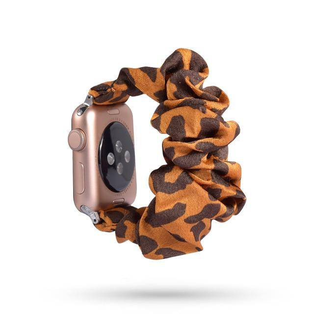 Home 75 / 42mm/44mm Apple Watch Band scrunchy, Stretch Scrunchie Elastic Watchband for 38mm/40mm 42mm/44mm iwatch Series 5 4 3