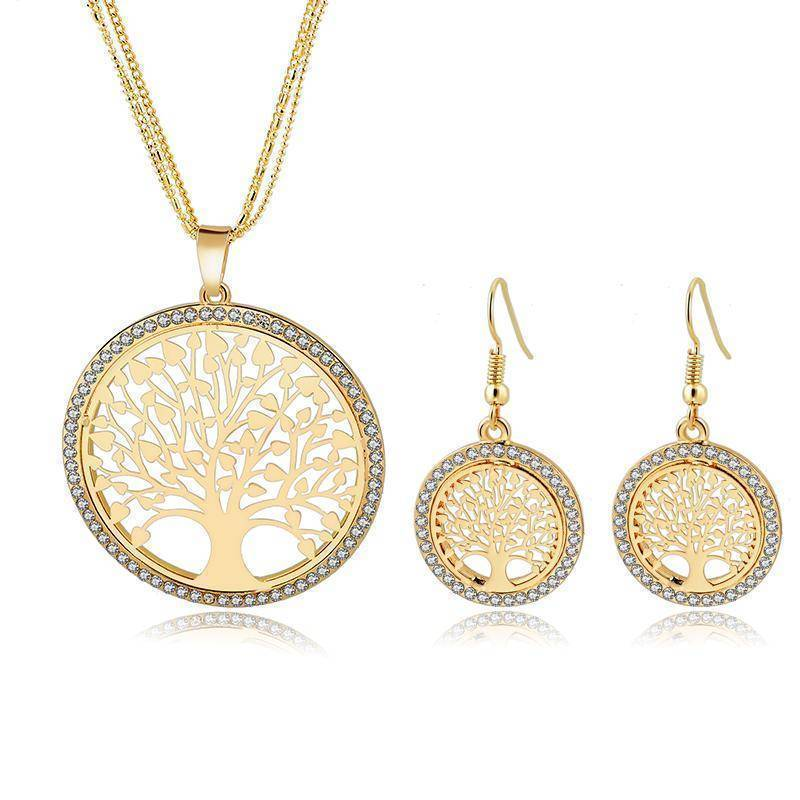 jewelry set 6 Designs, Tree of Life Jewelry set