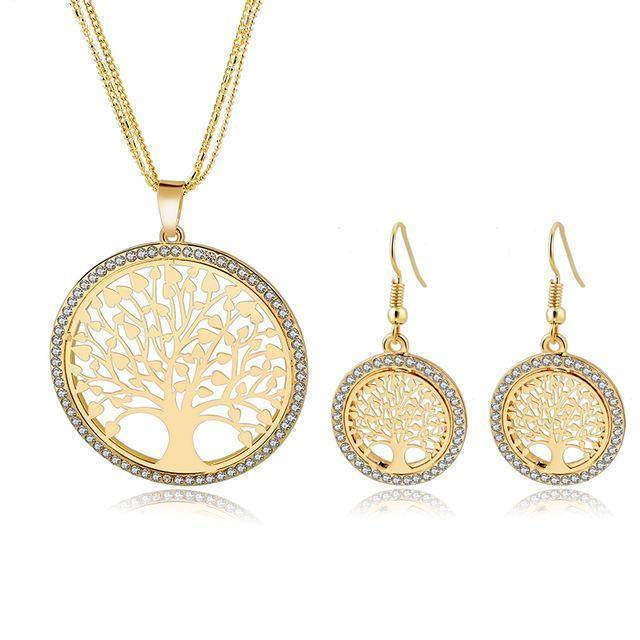 jewelry set jewelry set 6 Designs, Tree of Life Jewelry set